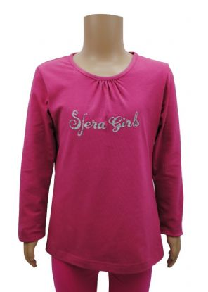 Wholesale Girls Tops & T-Shirts - Wholesale Ex Chainstore Girls Long Sleeve T-Shirt Top - Girls Wholesale Clothing